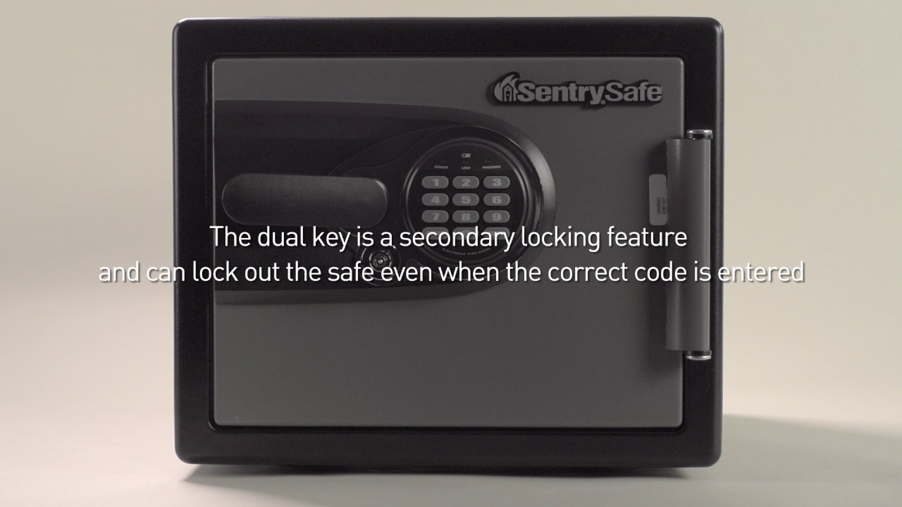 sentry safe electronic lock instructions