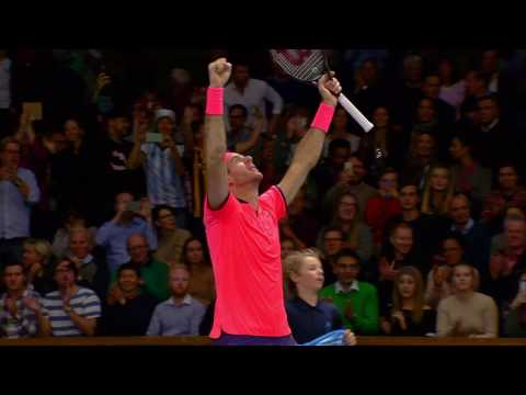 If Stockholm Open Championship point del Potro