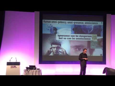 The future of learning, training and education:  Futurist Speaker Gerd Leonhard at LT15 London