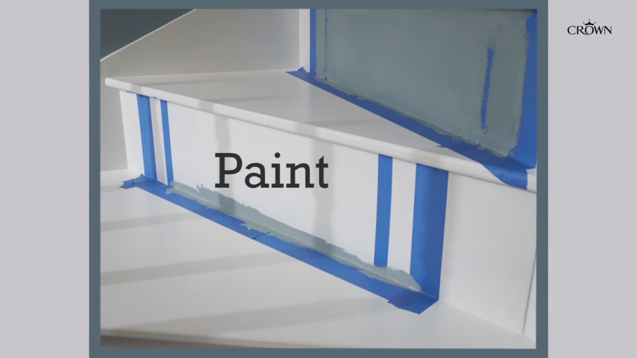 Hall And Stairs, How To Paint Stairs And Get The Look From Our Latest U0027Look  Booku0027