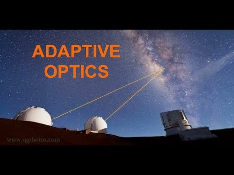 Telescope Adaptive Optics - With Prof Simon