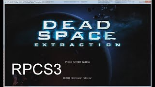 RPCS3 PS3 Emulator Dead Space Extraction gameplay  + settings [NPUB30314]