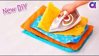 How to reuse plastic bag at home | Best out of waste | Artkala 344