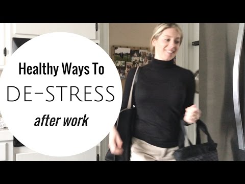 After Work Routine  Relaxing & Healthy Habits