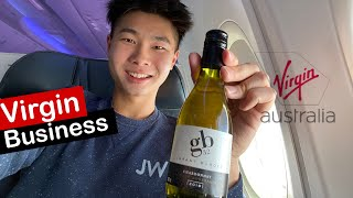 VIRGIN Australia is Back VA409 Adelaide to Sydney on 737 BUSINESS Class