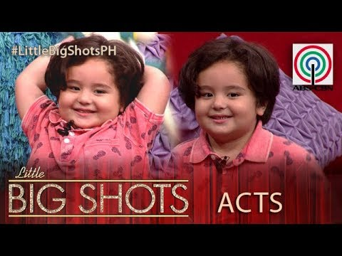 Little Big Shots Philippines: Jordan | 3-year-old Baby Heartthrob