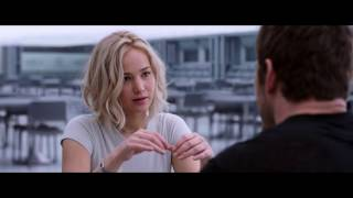 Passengers 2016 Film Best Kissing Scene