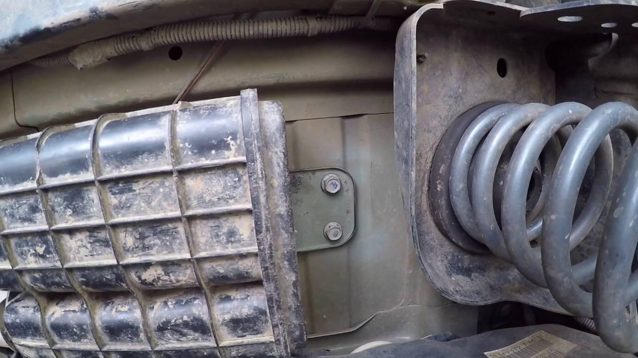 jeep wrangler jk evap cannister relocate diy 14bucks  [ 1280 x 720 Pixel ]
