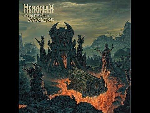 """Memoriam (ex-Bolt Thrower + more) announce new album """"Requiem For Mankind""""... + artwork..!"""