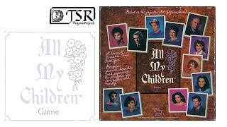 Game Geeks #4116 All My Children a classic TSR Game