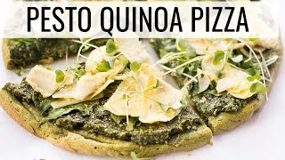 Pesto Quinoa Pizza | Healthy Dinner Ideas