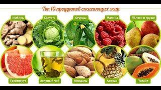 Продукты, сжигающие жиры для быстрого похудения
