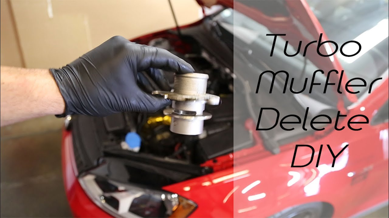 Diy Mqb Turbo Outlet Muffler Delete Removal Amp Install