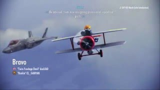 Ace Combat Infinity: Sky Kid Test Lv15