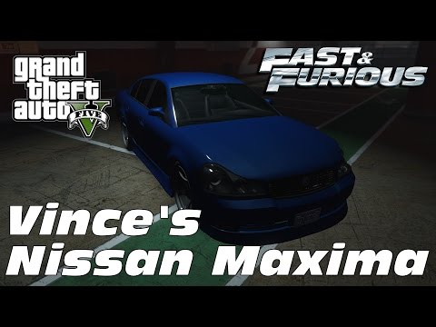 1999 Nissan Maxima (A32) - Vince's Auto (The Fast and the Furious)