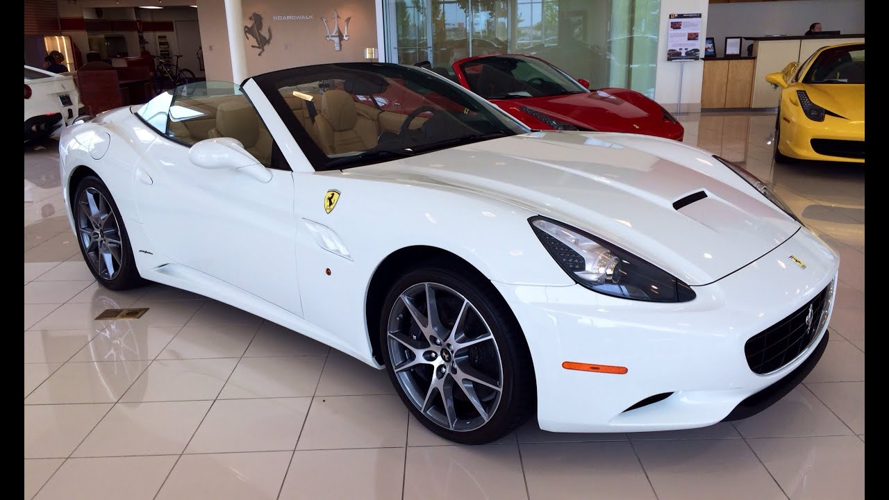 2013/2014 Ferrari California Convertible Exhaust, Start Up U0026 In Depth  Review   YouTube