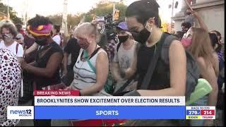Biden Harris Victory Parties Take Over Kings County