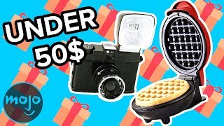 Top 10 Gifts Under 50$ for the Holidays (2018)