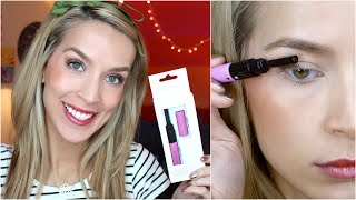 Heated Eyelash Curler REVIEW + DEMO!