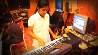 Pirai thedum Keyboard Instrumental - Varsha - Mylees academy