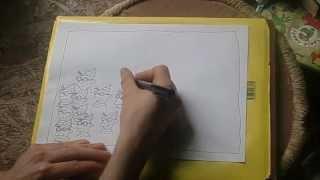 Sam Backhouse Draws a Cartoon