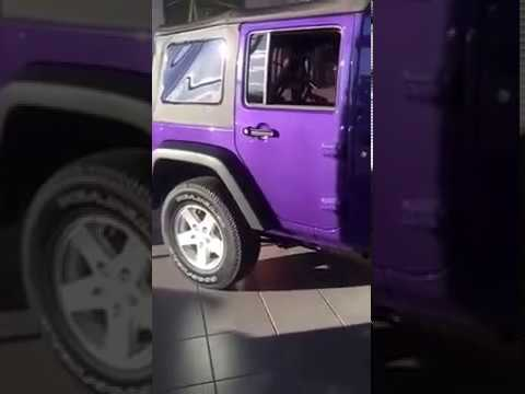Extreme Purple 2017 Jeep Wrangler Unlimited Sport Youtube
