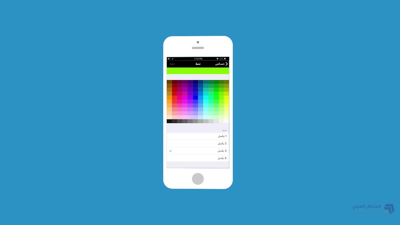 شرح برنامج ميتاتريدر 4 على iOS - iPhone