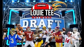 2018 NFL Draft   In the Draft Room LIVE! Ep.1   Combine & Analyzing the QBs 🏈🏈🏈 #LouieTeeLive thumbnail