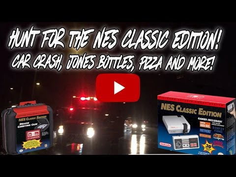 NES Classic Edition Hunt: Toys R Us Restock 12/4 - WE WANT THIS CONSOLE!