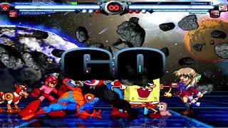 BTW MUGEN - Spider-Man's Team vs. Boggy B's Team