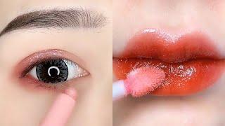 Уроки макияжа идеальных губ как корейские девушки Красивый макияж глаз Уловки красоты