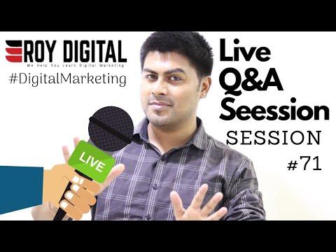 Digital Marketing Q&A Session #71 live with Roy Digital thumbnail
