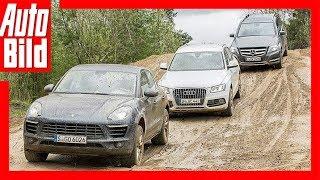 Porsche Macan vs. Audi Q5 vs. Mercedes GLK