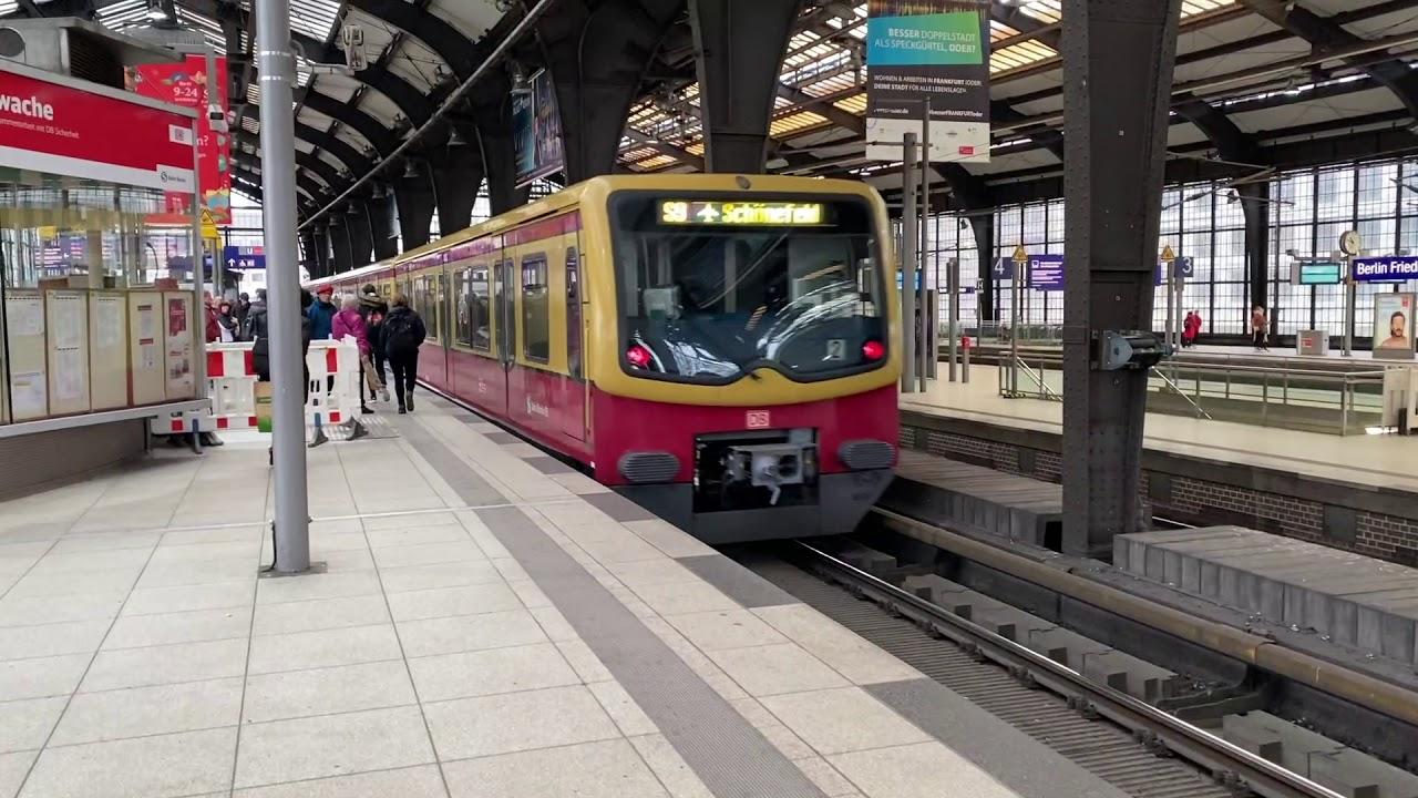 Trains of the Berlin S-Bahn (December 2019) - YouTube
