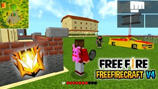 Map Free Fire Craft v4 - 🍁full Command block and mode ||🔥New Update || ❄️Free Download screenshot 1