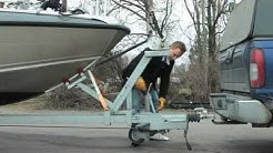 Veneen ja trailerin käsittely