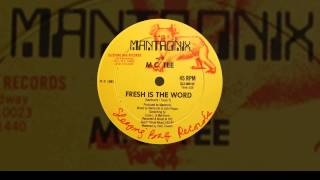 Mantronix - Fresh Is the Word (Instrumental)