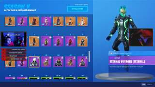 FORTNITE FIRST DAY SEASON X BATTLE PASS REVEAL (NEW SKINS)