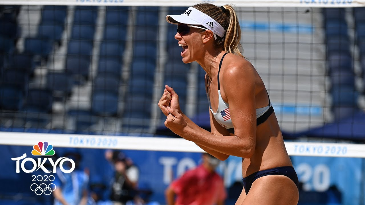 Download China vs. USA | Tokyo Olympics 2020: Women's Beach Volleyball Highlights | NBC Sports