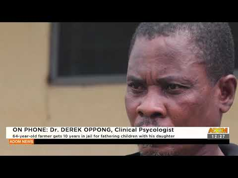 64 year old farmer gets 10 year in jail for fathering children with his daughter - Adom TV (20-9-21)