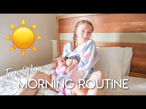 Teen Mom Morning Routine 2020! *Realistic*