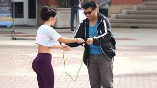 WORKING OUT IN PUBLIC PRANK!!