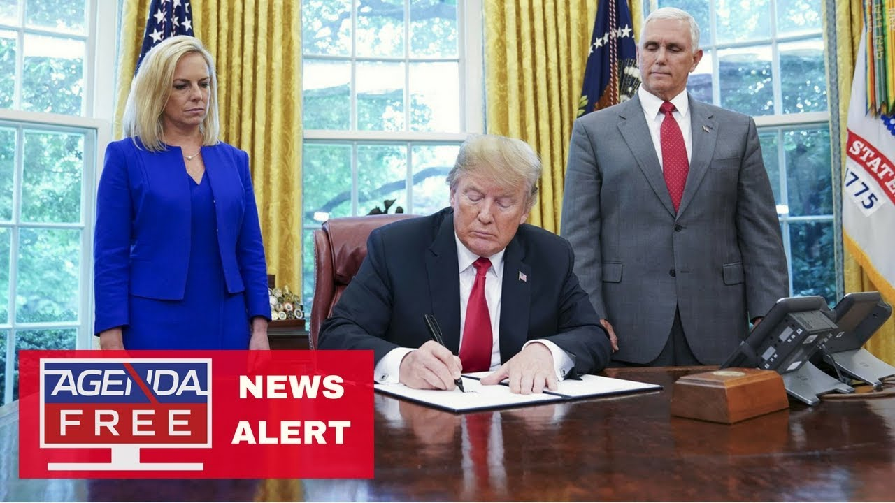 Trump Signs Order Ending Family Separation - LIVE BREAKING ...