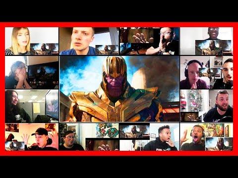Avengers Infinity War Official Trailer Reaction Mashup