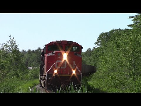 CN Gypsum Train 511 at Waverley, NS (June 29, 2017)