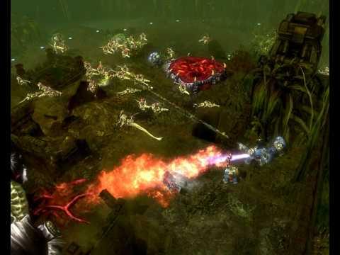 Warhammer 40000 - DOW 2 UltraMarines Terminator (my mod) |
