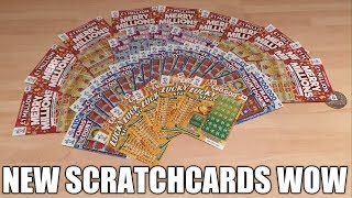 NEW SCRATCHCARDS WOW