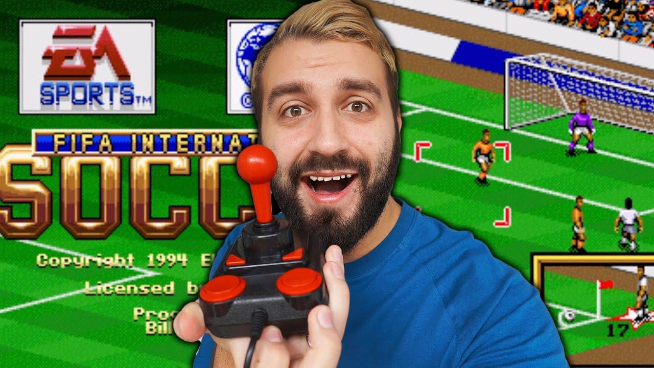 Сыграл в САМУЮ ПЕРВУЮ FIFA 1993!