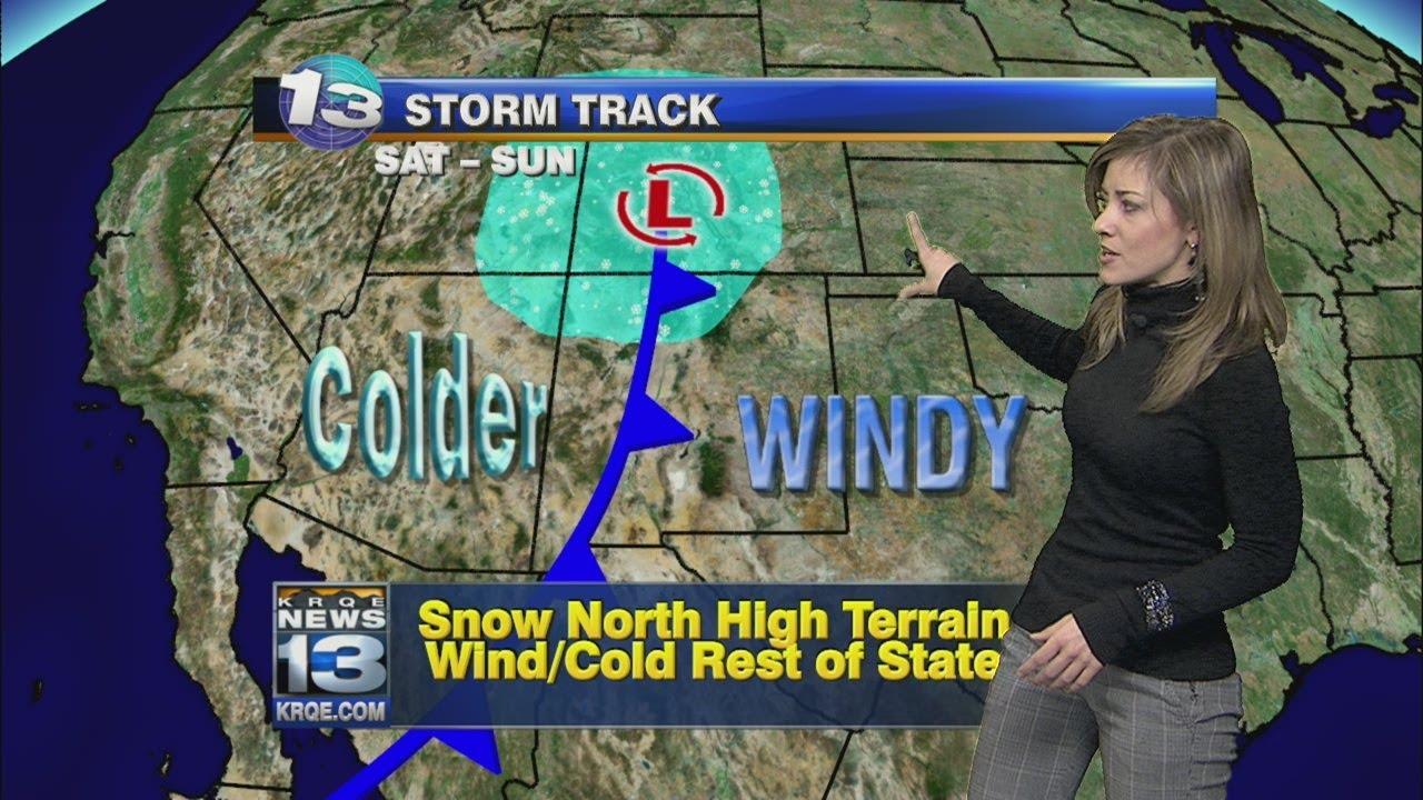 Kristen's Thursday Afternoon Forecast