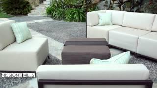 Malibu 6-piece Modular Deep Seating Sectional